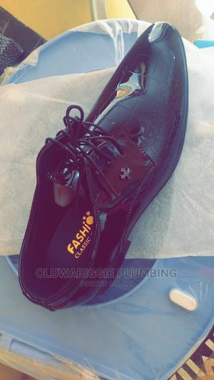 Office Leather Shoes (Black Laced)   Shoes for sale in Ogun State, Abeokuta South