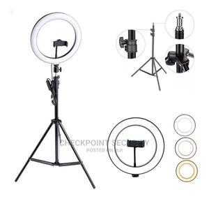 26cm 10 Inches Ring Light With Stand for Live Stream | Accessories & Supplies for Electronics for sale in Lagos State, Ikeja