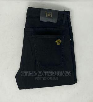 Versace Straight Cut Jeans Original | Clothing for sale in Lagos State, Surulere