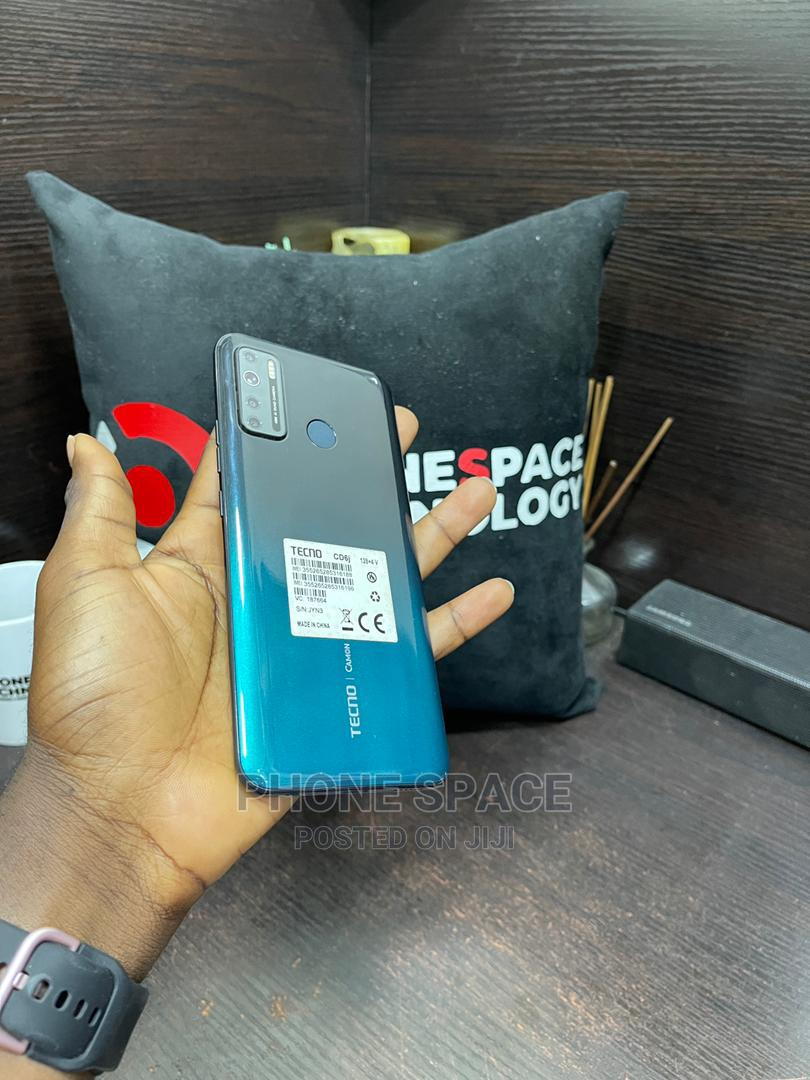 New Tecno Camon 16S 128 GB Black | Mobile Phones for sale in Ikeja, Lagos State, Nigeria