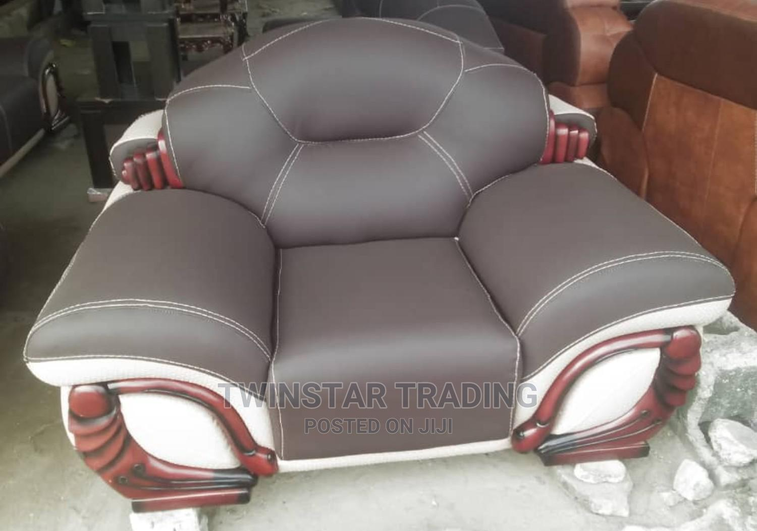 Archive: New Leather Sofa 7 Seaters Chair