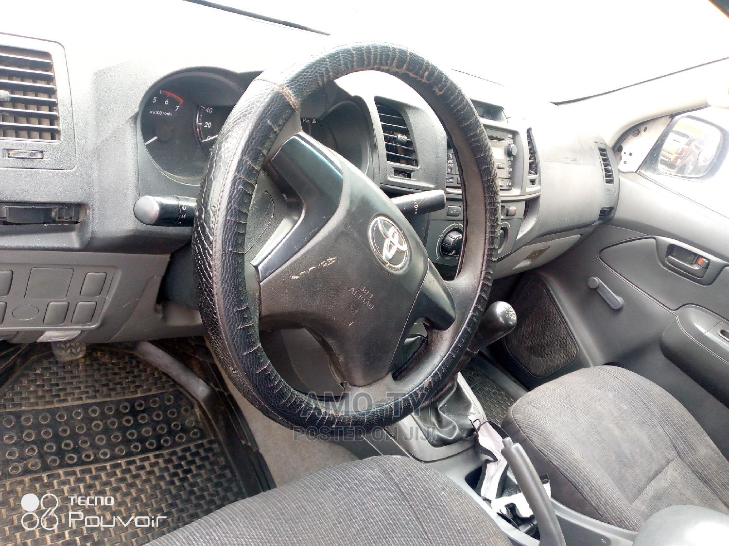 Toyota Hilux 2012 White   Cars for sale in Ikeja, Lagos State, Nigeria