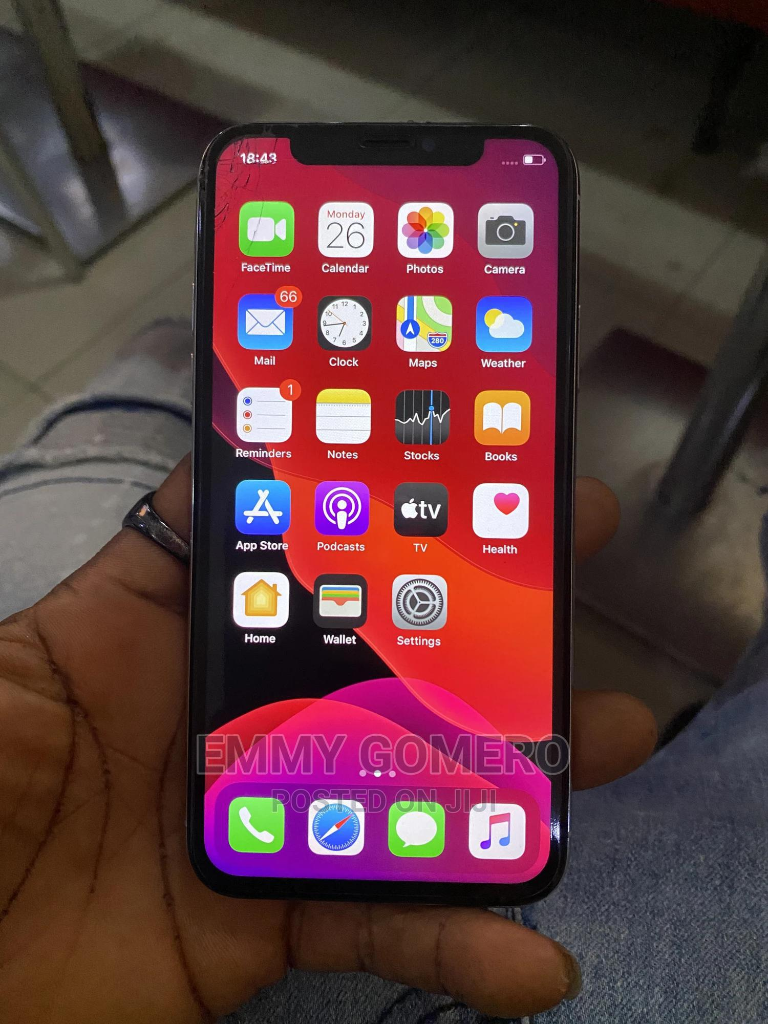 Apple iPhone X 64 GB White | Mobile Phones for sale in Port-Harcourt, Rivers State, Nigeria