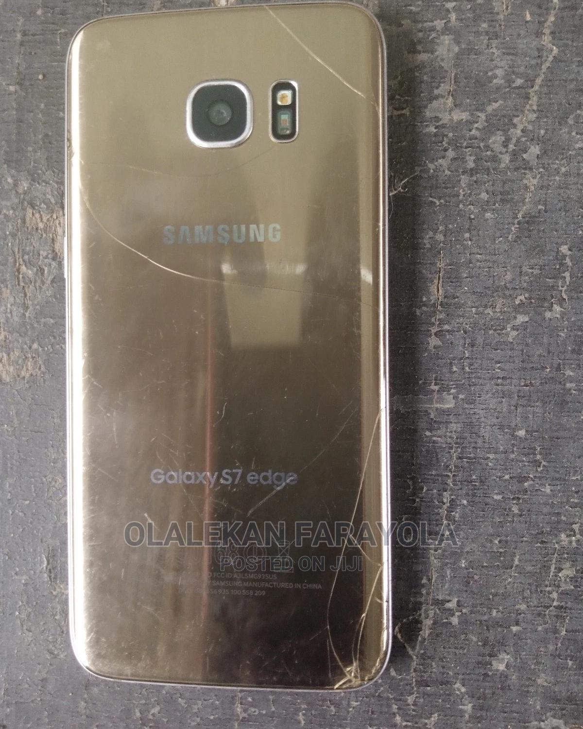 Samsung Galaxy S7 edge 32 GB Gold | Mobile Phones for sale in Central Business Dis, Abuja (FCT) State, Nigeria