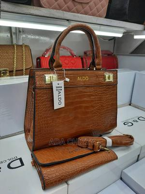 New Quality Female Brown Leather Handbag   Bags for sale in Lagos State, Isolo