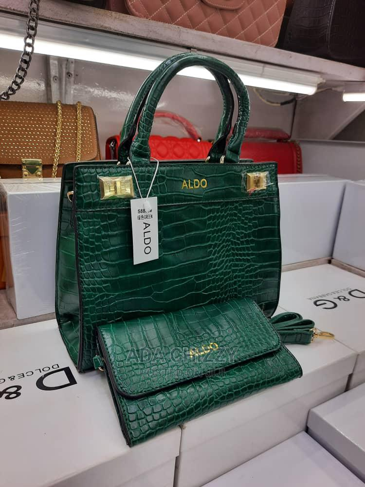 Quality Female Turkey Green Handbag