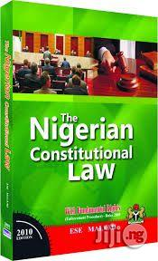 Nigerian Constitutional Law by Ese Malemi