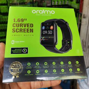 """Oraimo 1.6"""" Curved Screen Smart Watch OSW-16   Smart Watches & Trackers for sale in Lagos State, Ikeja"""