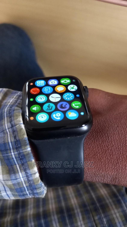 HW12 Series 5 Full Split Screen Smartwatch-Bt Call,ECG,BP