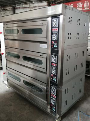 Original 9tray 3deck Gas Oven | Industrial Ovens for sale in Lagos State, Ojo