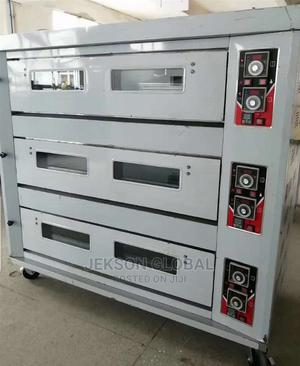 Original 9 Trays 3deck Industrial Gas Oven | Industrial Ovens for sale in Lagos State, Ojo