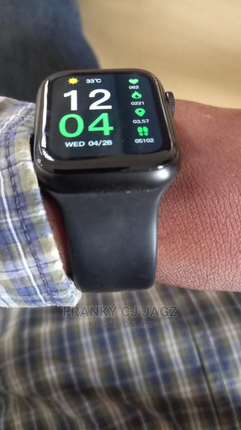 HW12 Series 5 Full Split Screen Smartwatch-Bt Call,ECG,BP | Smart Watches & Trackers for sale in Wuse, Abuja (FCT) State, Nigeria