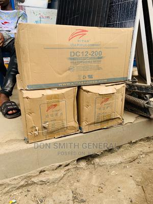 200ah 12v Original Ritar Battery | Solar Energy for sale in Lagos State, Ajah