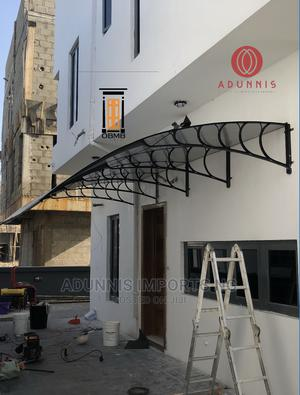 Facadie Window Door Canopy Downparlour Polycarbonate Awning   Building Materials for sale in Lagos State, Lekki