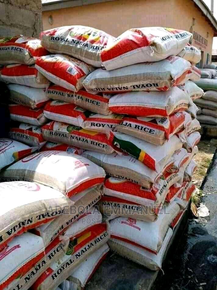 Bags of Rice for Sell and Granut Oil