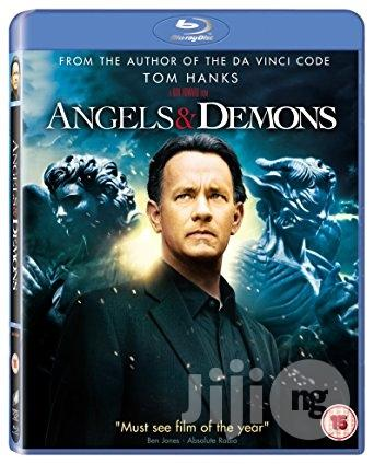 New Original Angels & Demons Blu-ray