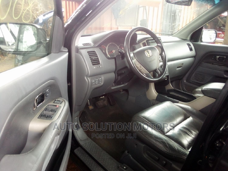 Honda Pilot 2007 EX 4x4 (3.5L 6cyl 5A) Black | Cars for sale in Ikeja, Lagos State, Nigeria