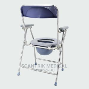 Elderly Bathing Chair Shower Toilet Commode Chair   Medical Supplies & Equipment for sale in Abuja (FCT) State, Guzape District