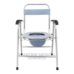 Patient Toilet Chair Wheelchair for Elderly   Medical Supplies & Equipment for sale in Abuja (FCT) State, Gudu