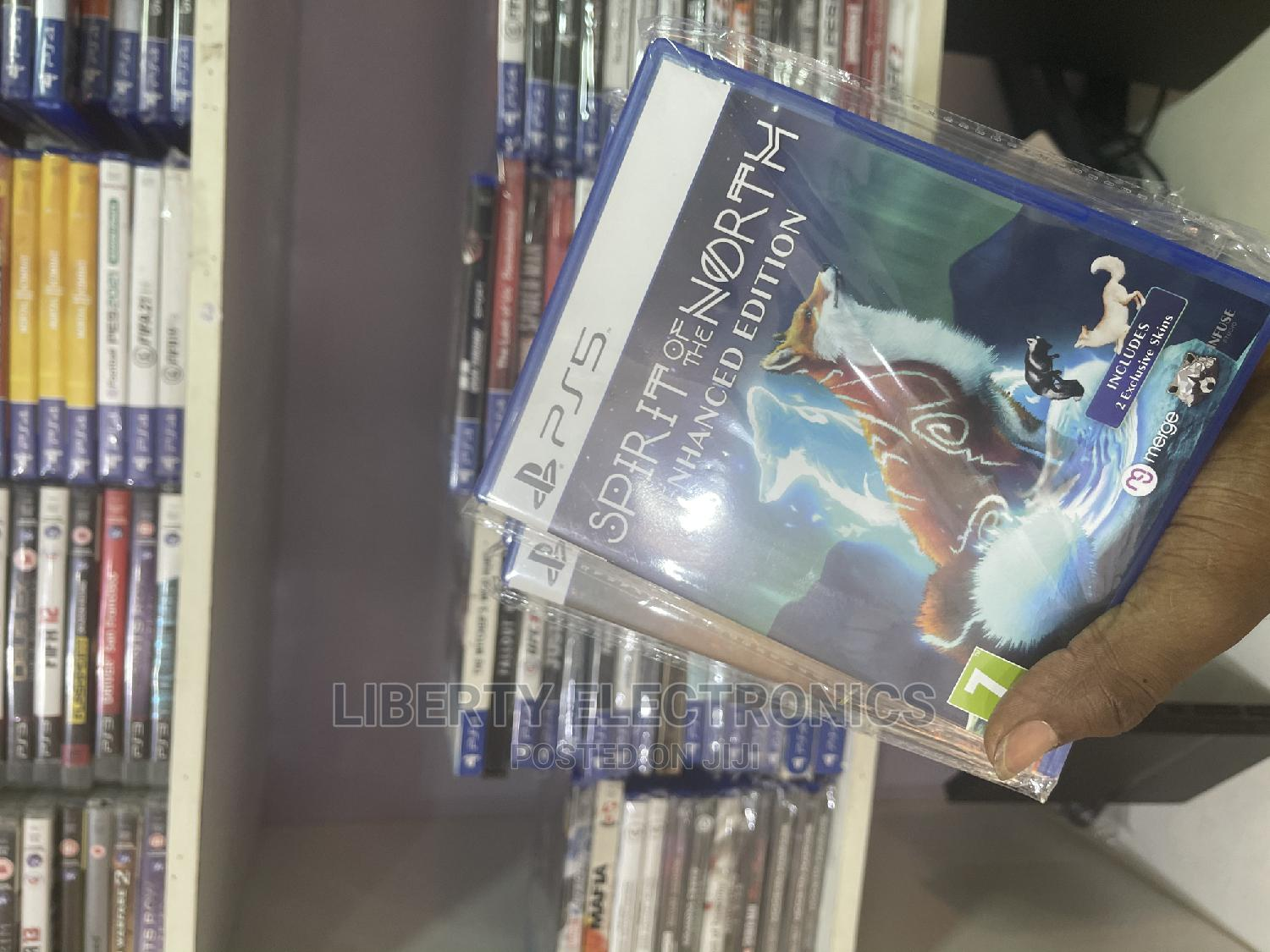 Ps5 Game Cd's Spirit of D North Enhanced Edition
