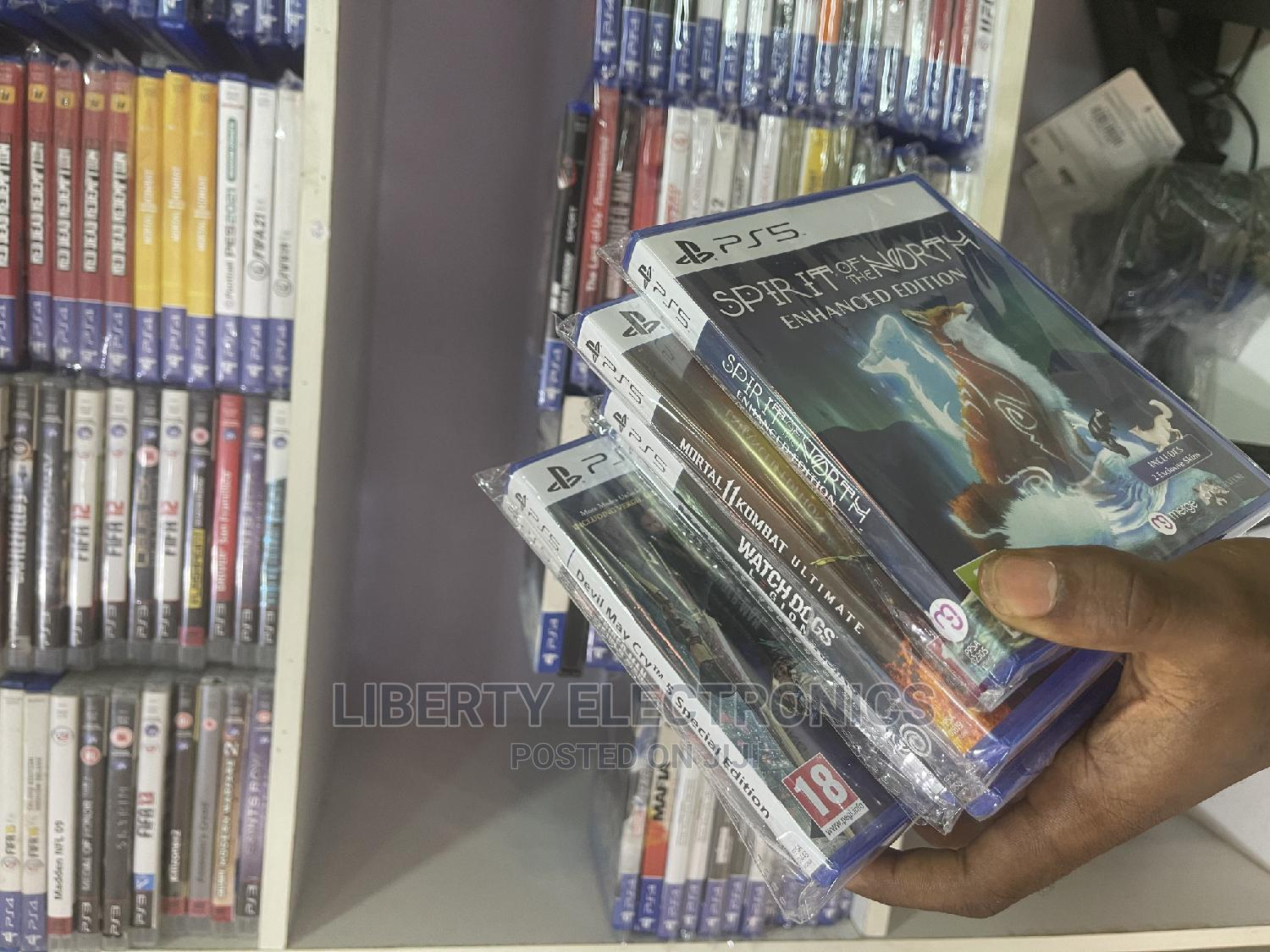 Ps5 Game Cd's Spirit of D North Enhanced Edition   Video Games for sale in Gwarinpa, Abuja (FCT) State, Nigeria
