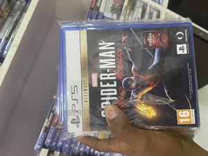 Ps5 Game Cd's Spiderman Miles Morales Special Edition   Video Games for sale in Abuja (FCT) State, Kubwa