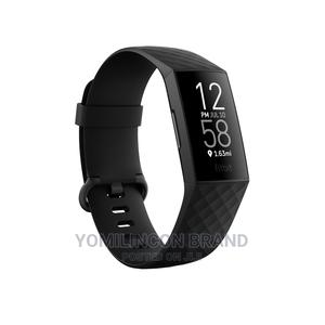 Fitbit Charge 4 Watch - Black. | Smart Watches & Trackers for sale in Lagos State, Ikeja