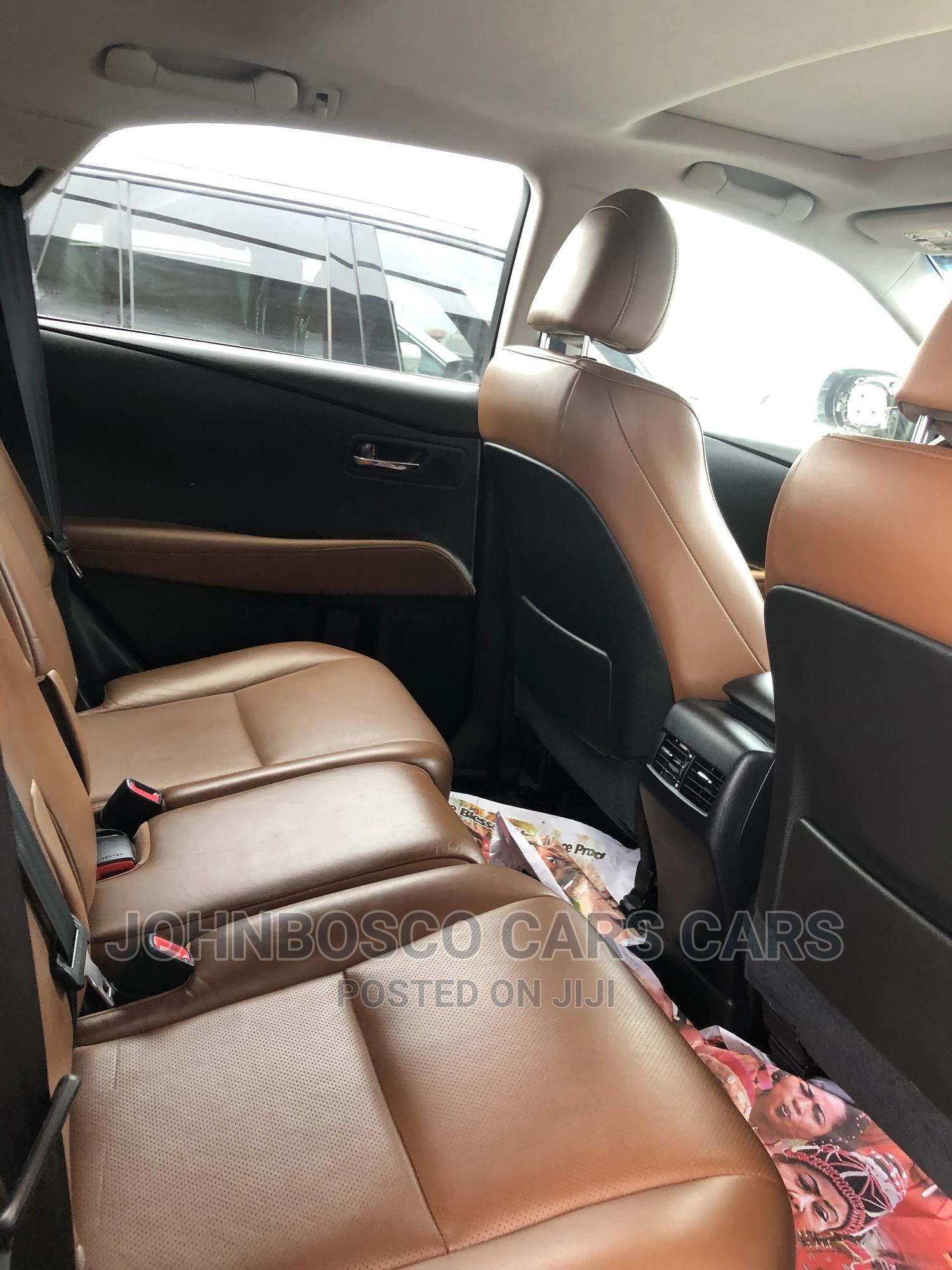 Lexus RX 2015 350 FWD Black | Cars for sale in Apapa, Lagos State, Nigeria