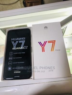 New Huawei Y7 Prime 32 GB Black   Mobile Phones for sale in Lagos State, Ikeja