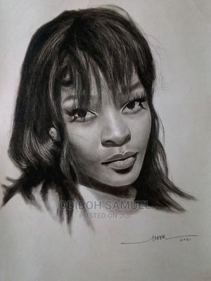 Make a Beautifully Framed Pencil Portrait | Arts & Crafts for sale in Lagos State, Abule Egba