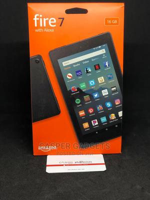 New Amazon Fire 7 (2017) 16 GB Black   Tablets for sale in Lagos State, Ikeja