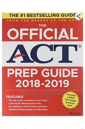 The Official ACT PRE GUIDE 2018-2019 | Books & Games for sale in Lagos State, Yaba