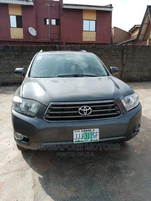 Toyota Highlander 2008 Gray | Cars for sale in Lagos State, Ikorodu