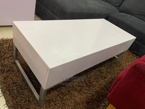 Lovely Coffee Table. Glossy White   Furniture for sale in Lagos State, Lekki