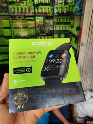 Oraimo Curved Display Slim Smart Watch OSW-16   Smart Watches & Trackers for sale in Lagos State, Ikeja