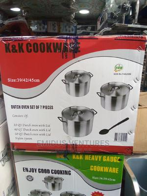 K K Big Size Highest Quality Pot by 3   Kitchen & Dining for sale in Lagos State, Lagos Island (Eko)