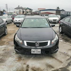 Honda Accord 2008 2.4 LX Black   Cars for sale in Rivers State, Port-Harcourt