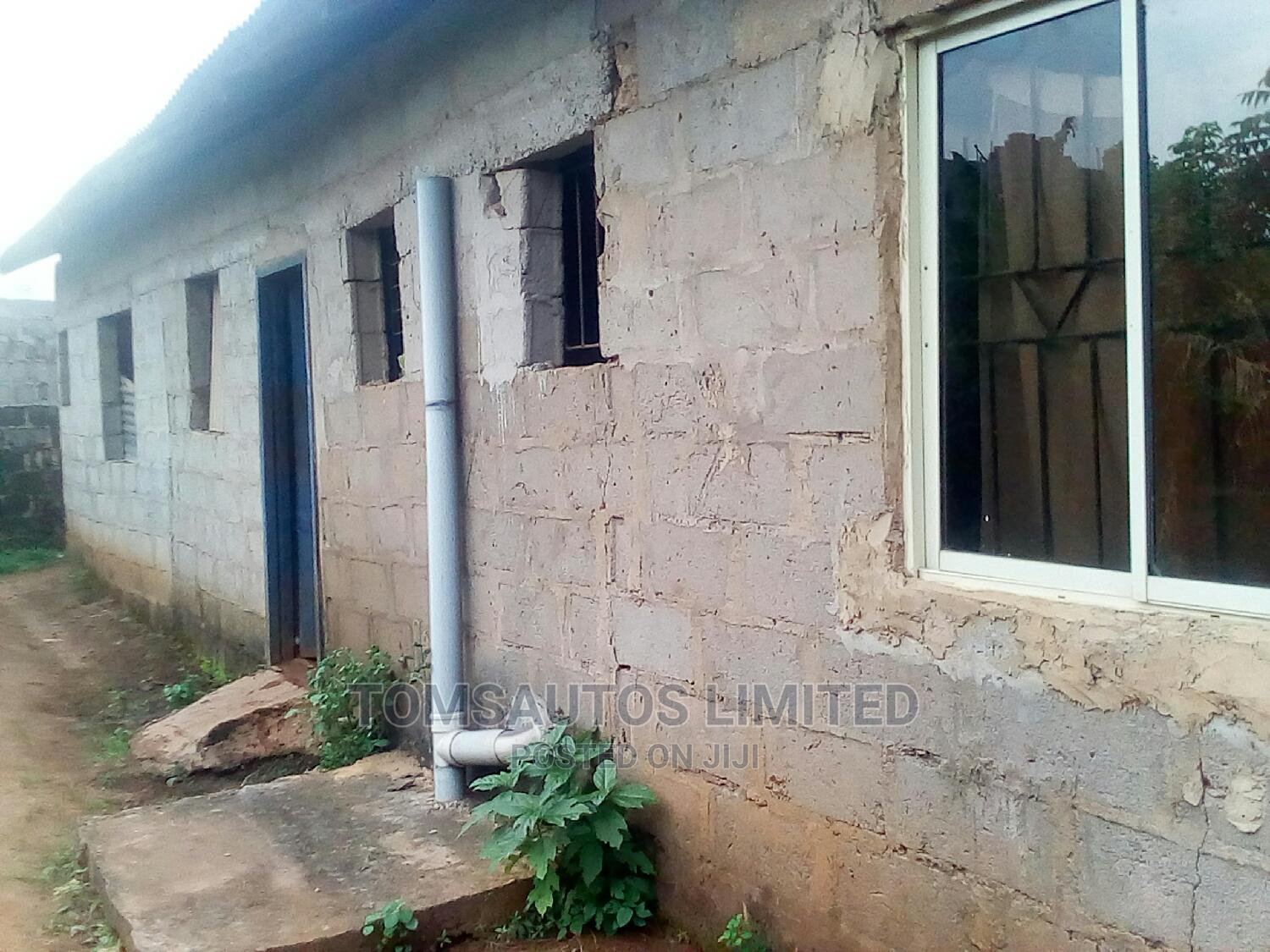 Two Bedroom and a Room and Palour Self Contain on a Plot