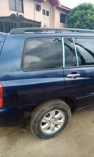 Toyota Highlander 2004 V6 AWD Blue | Cars for sale in Lagos State, Kosofe