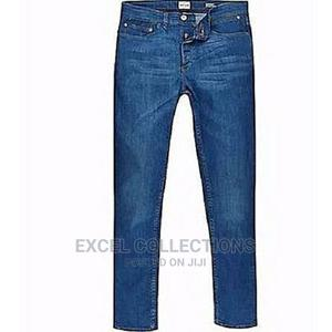 Men's Quality Jeans Trousers Straight Leg Cut/Blue | Clothing for sale in Lagos State, Surulere