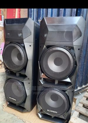 X BOOM 2000w Tower Stand Music Bluetooth Powerful Bass Blast   Audio & Music Equipment for sale in Lagos State, Ojo