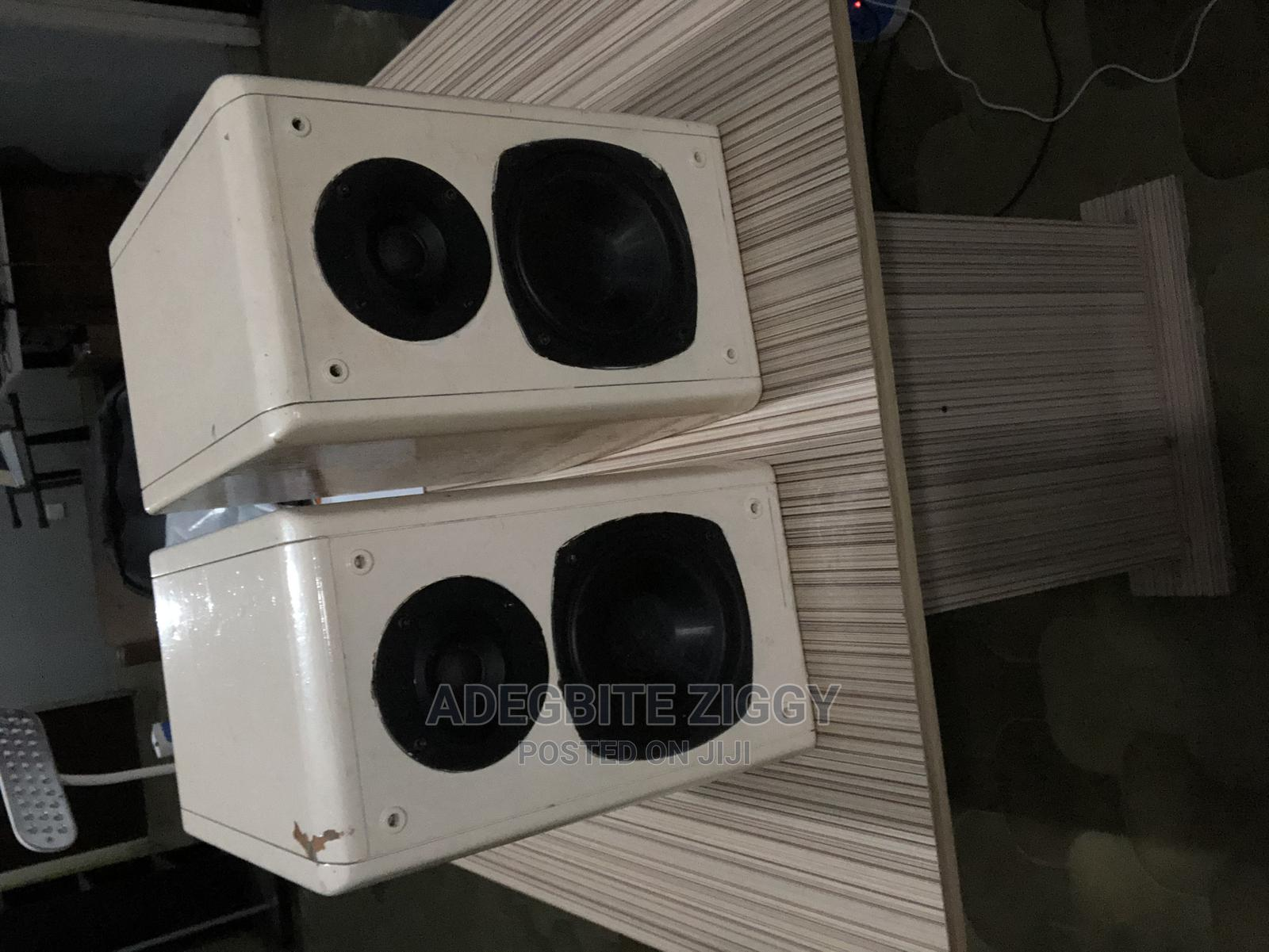 Stereo Monitor Speakers ( No Power Amp )