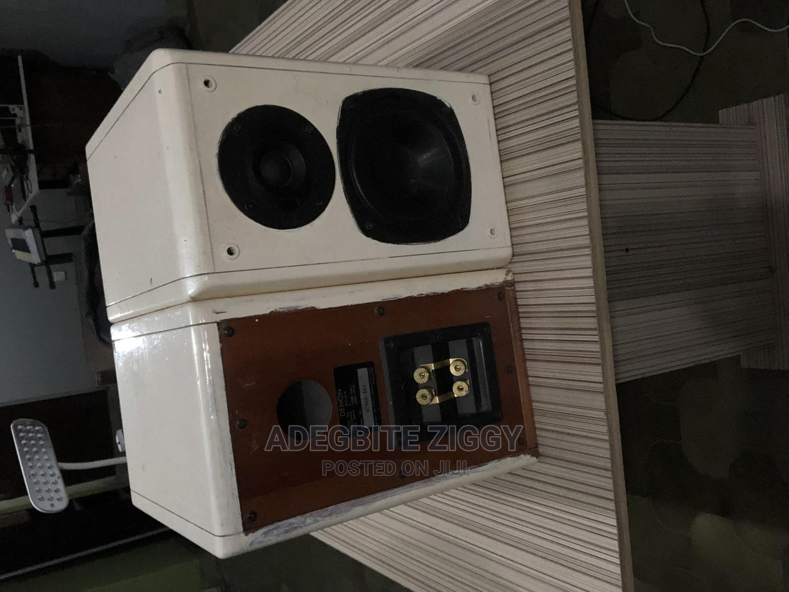 Stereo Monitor Speakers ( No Power Amp ) | Audio & Music Equipment for sale in Yaba, Lagos State, Nigeria