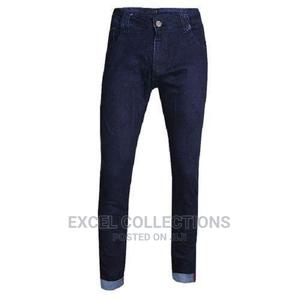 Quality Men's Casual Slim Fit Jeans - Blue | Clothing for sale in Lagos State, Surulere