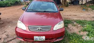Toyota Corolla 2004 LE Red | Cars for sale in Oyo State, Egbeda
