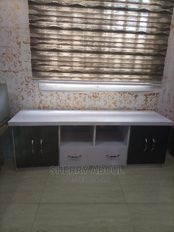 White TV Stand | Furniture for sale in Gwarinpa, Abuja (FCT) State, Nigeria