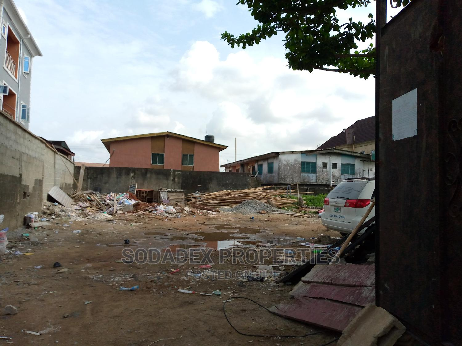 2 Plot Together for Lease at Pedro | Land & Plots for Rent for sale in Gbagada, Lagos State, Nigeria
