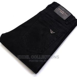 Black Male the Type Jeans Tide Card the Style Elasticity | Clothing for sale in Lagos State, Surulere