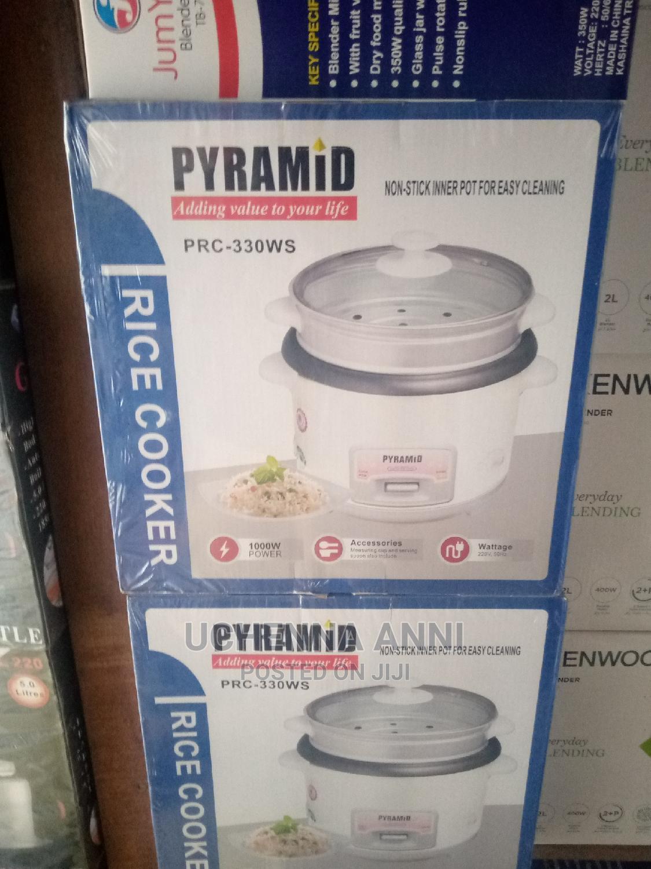 Rice Cooking Pyramid