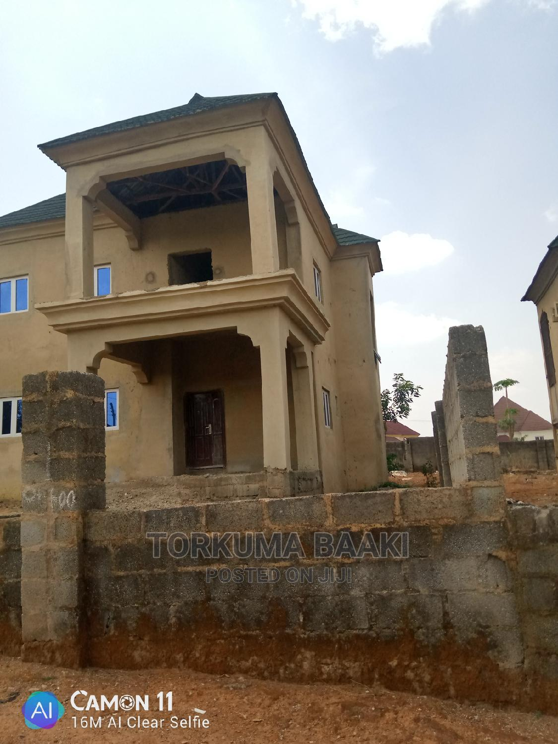 Big Four Bedroom Duplex Carcass for Sale   Houses & Apartments For Sale for sale in Gwarinpa, Abuja (FCT) State, Nigeria